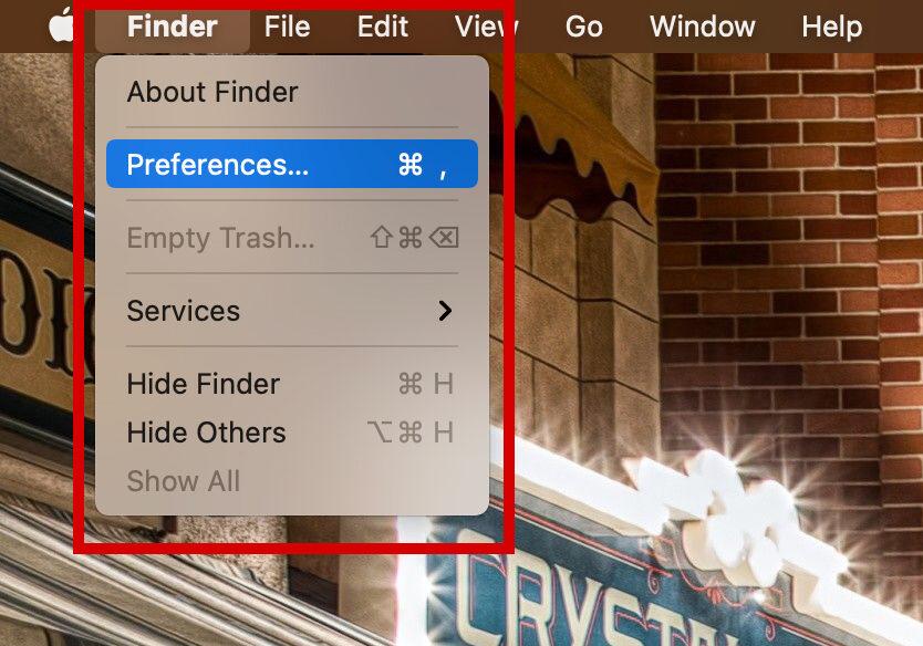 Macデスクトップへアイコン表示方法